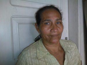 Orbelina Flores - campesina leader.